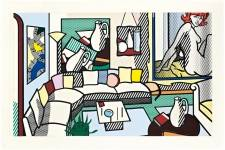 Collage for Interior: Perfect Pitcher Roy Lichtenstein (1923-1997) Executed in 1994