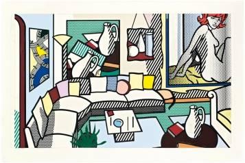 Collage for Interior: Perfect Pitcher Roy Lichtenstein (1923-1997) Executed in 1994