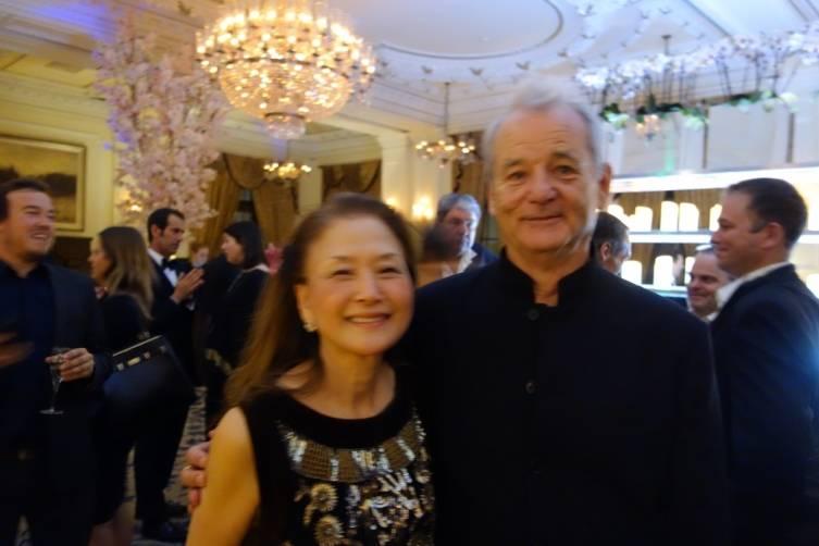 Bill Murray with Olivia Hsu Decker