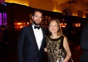 Henry Cavill with Olivia Hsu Decker
