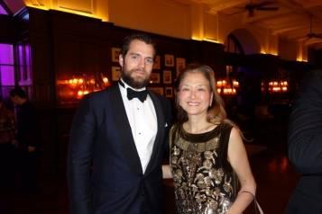 Henry Cavill with Olivia Hsu Decker