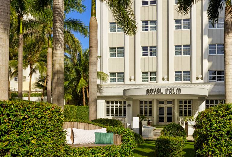 Exterior of the Royal Palm South Beach
