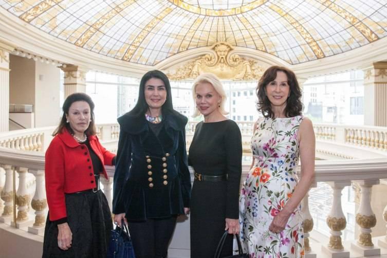 Francoise Skurman, Afsaneh Akhtari, Sandra Farris, Carolyn Chandler
