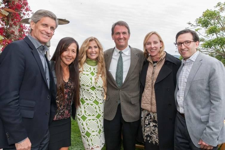 Dr. Frank Longo,  Anne Longo, Sherry & Laird Cagan, Amir Rubin and Nicole Rubin