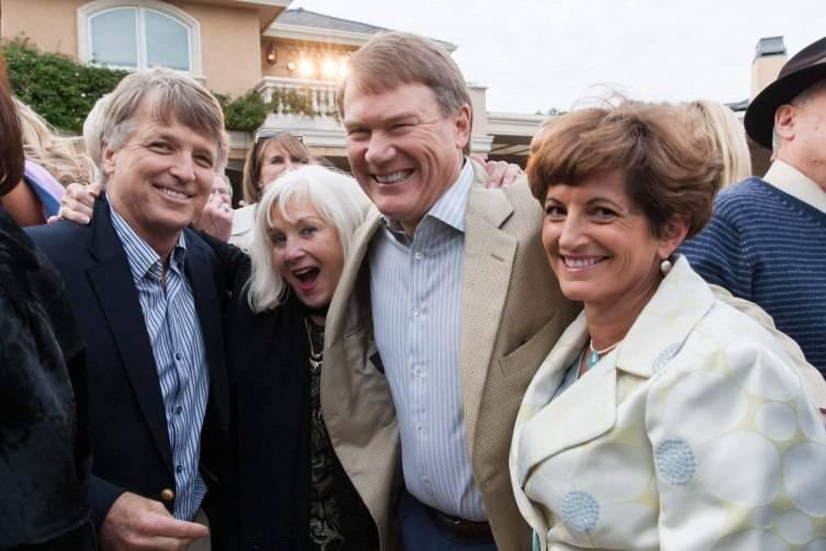 Bert Inch, Arlene Inch, Don Morris, Kathy Morris