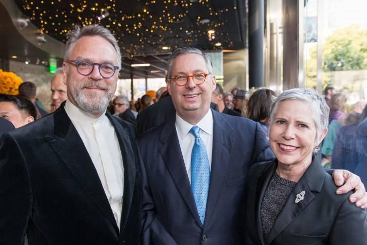 Nion McEvoy, Michael Lazarus, Laura Lazarus