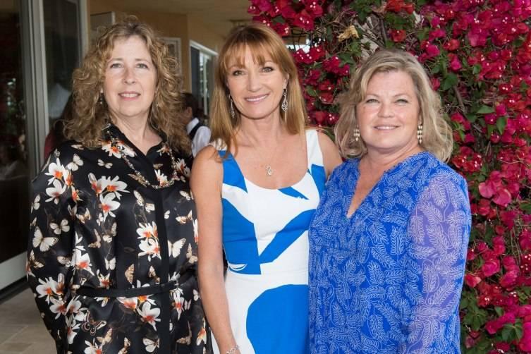 Laure Woods, Jane Seymour, Linda Giampa