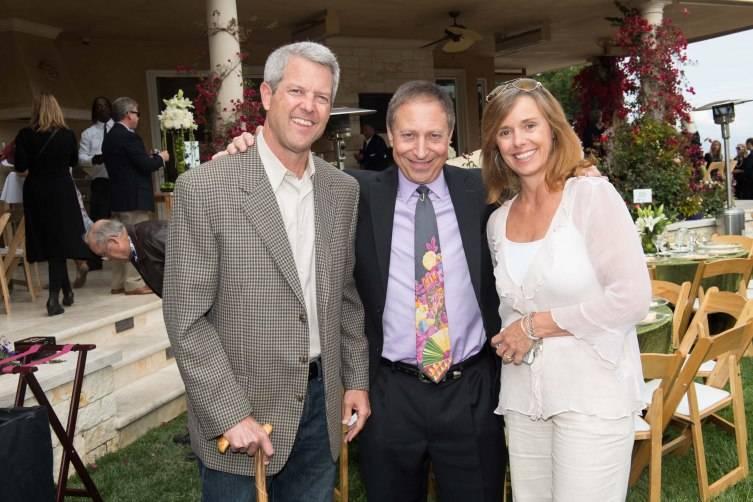 Scott Athearn, Dr. Richard Horowitz, Camille Athearn