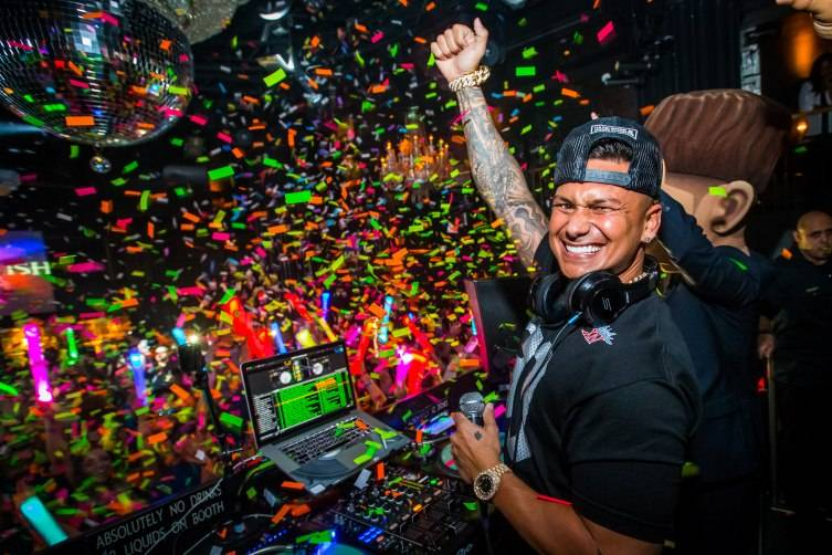 DJ Pauly D at Body English at Hard Rock Hotel in Las Vegas, NV