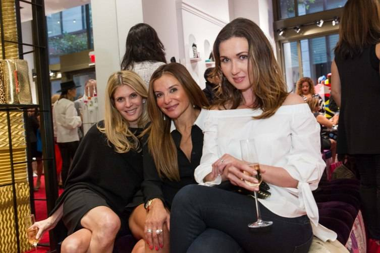 Sarah Byrne, Claudia Ross, Camilla Papale