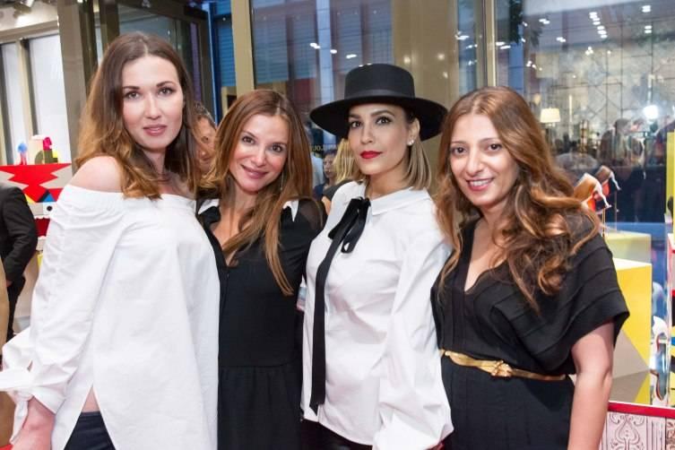Camilla Papale, Claudia Ross, Lora DuBain, Kristina Musailov