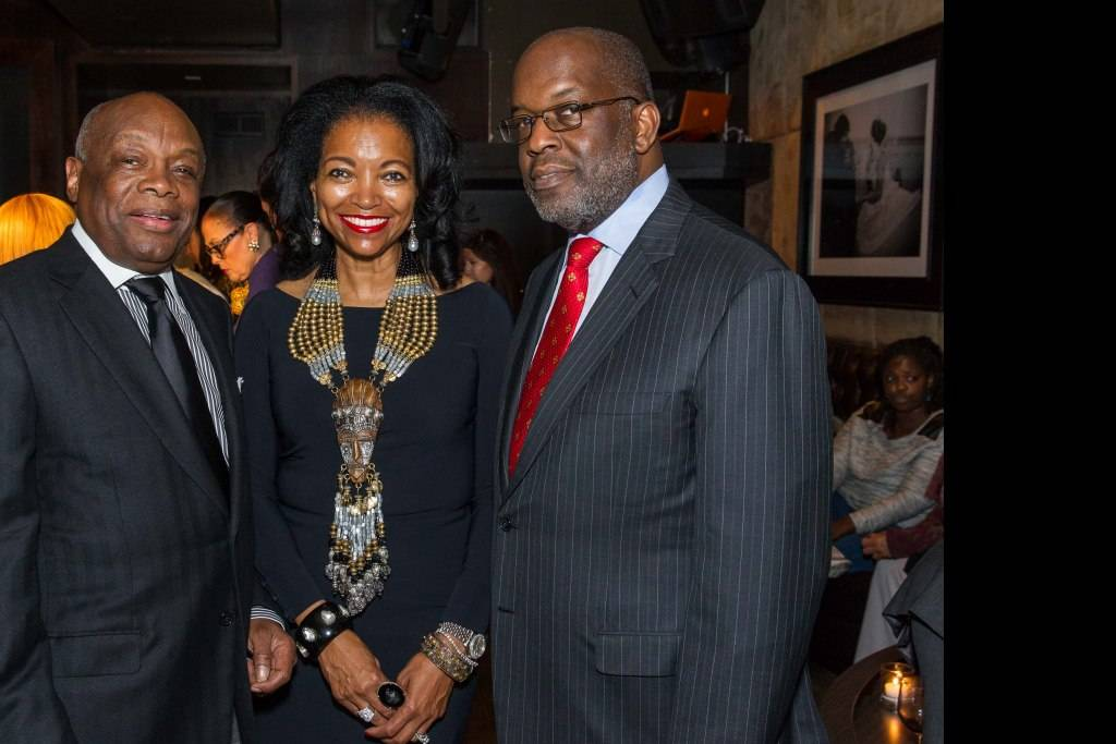 Willie Brown, Denise Bradley Tyson and Bernard Tyson