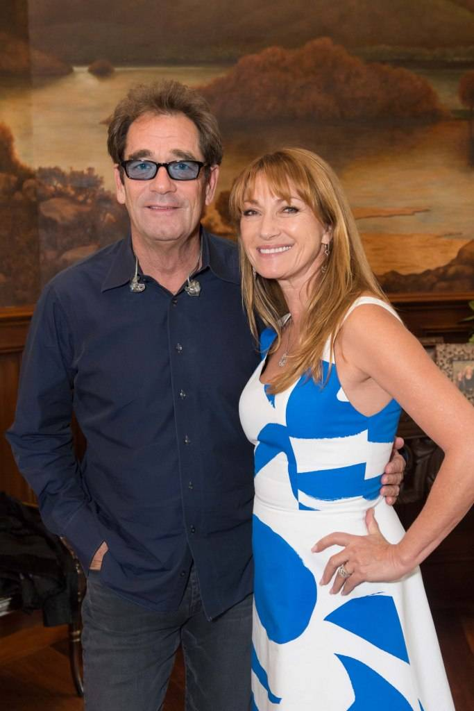 Huey Lewis and Jane Seymour