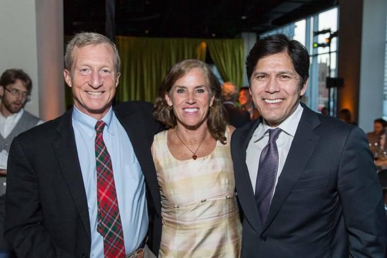 Tom Steyer, Kat Taylor, State Senator Kevin deLeon