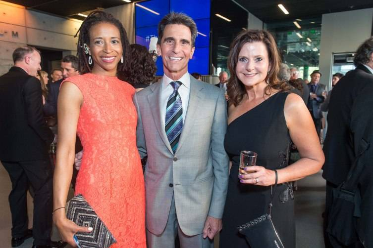 Katiti Crawford, Mark Leno, Diane Mailey