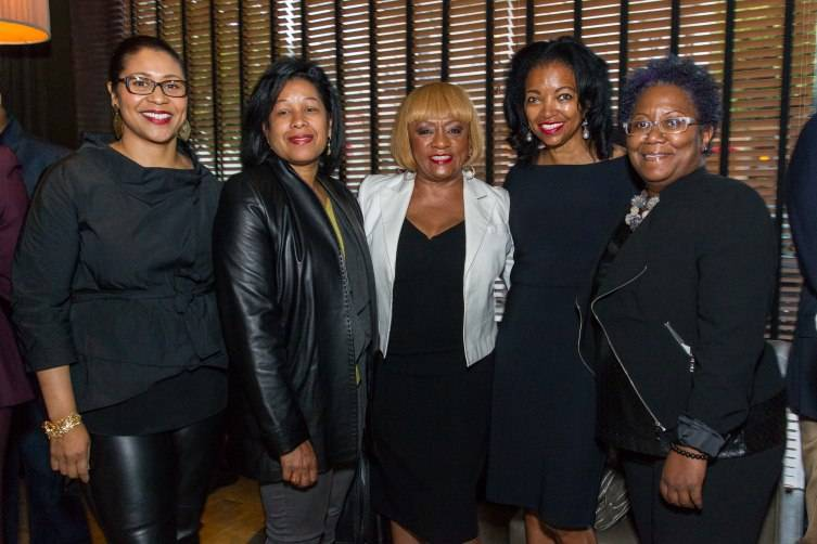 London Breed, Kimberly Brandon, Brenda Wright, Denise Bradley-Tyson, Shiree Dyson