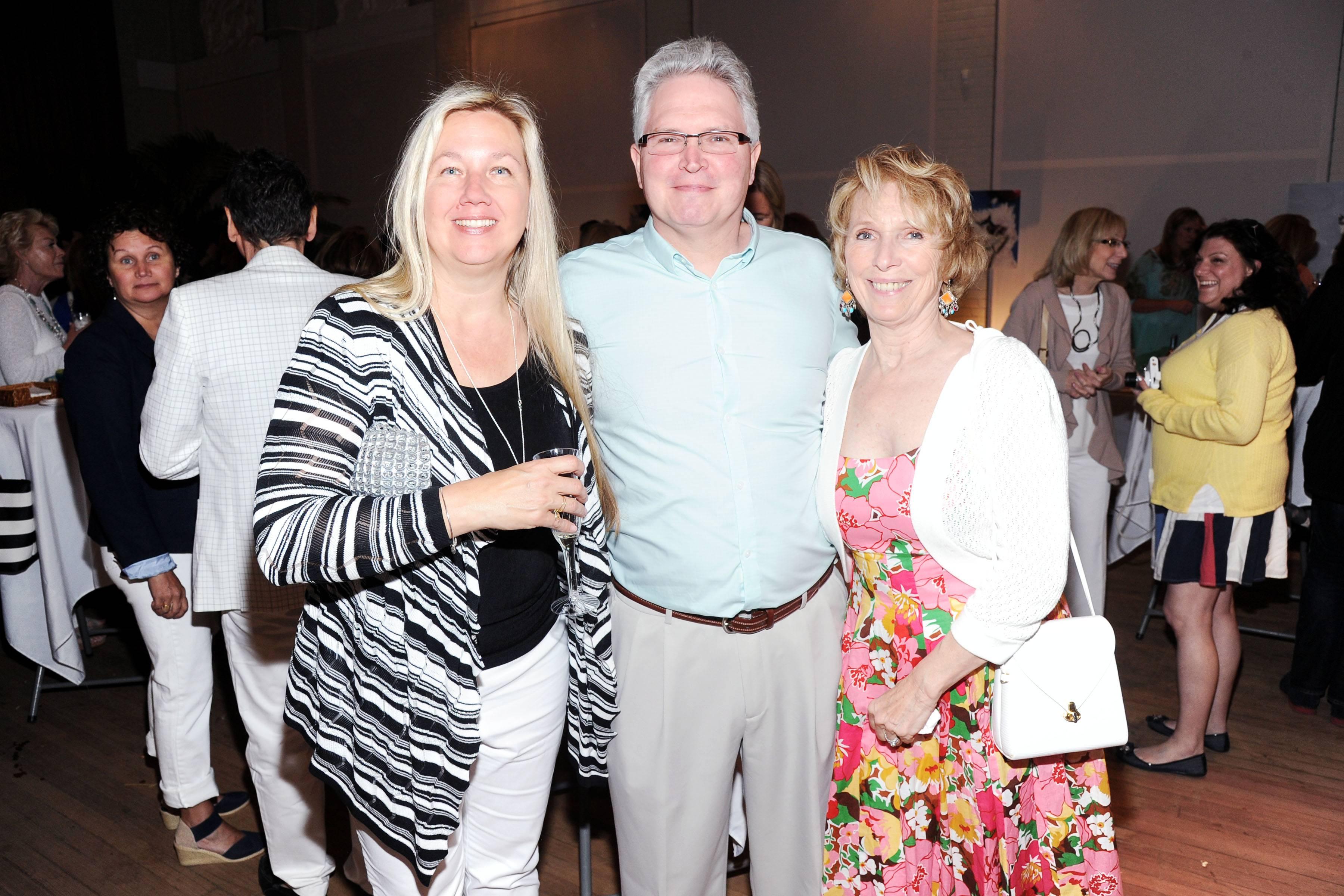 Shelley Berkoski, Tom Berkoski, Judith Rose ©Patrick McMullan, Photo - Owen Hoffmann/PatrickMcMullan.com ==
