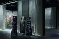 Interior of the Armani/Silos Exhibit