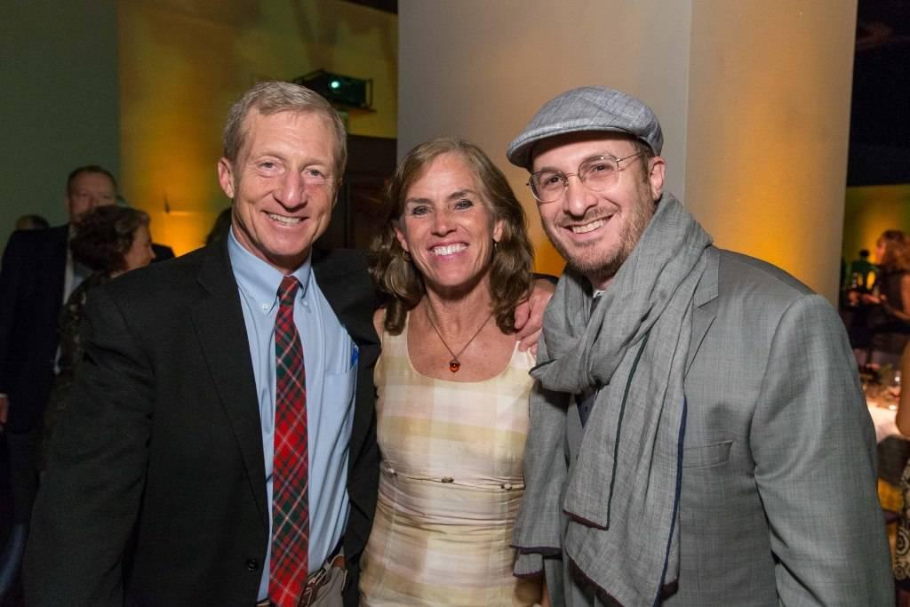 Tom Steyer, Kat Taylor and Darren Aronofsky