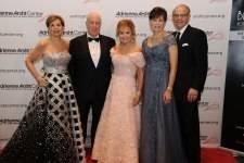 Adrienne Arsht, Paul DiMare, Swanee DiMare, Margaret Eidson, & Mike Eidson