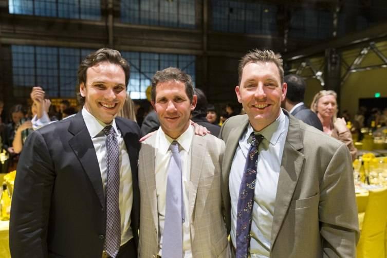 Will Harbin, Adam Clammer, Ted Bartlett
