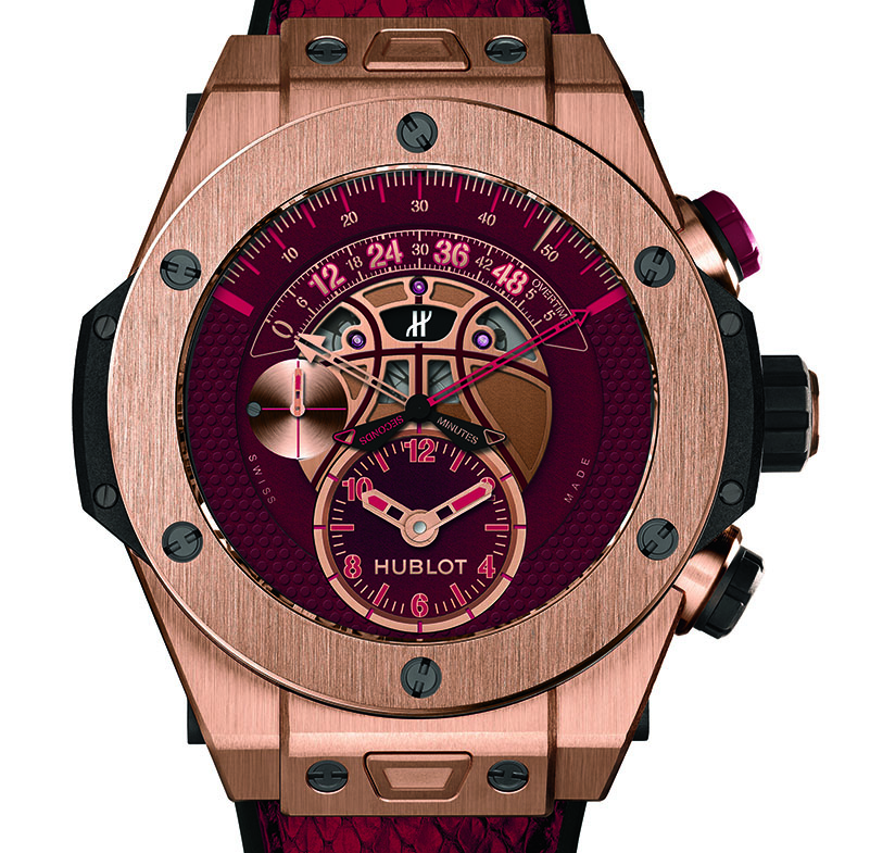 "18K Gold Big Bang ""Vino"","" image via Hublot and Steve Jennings"