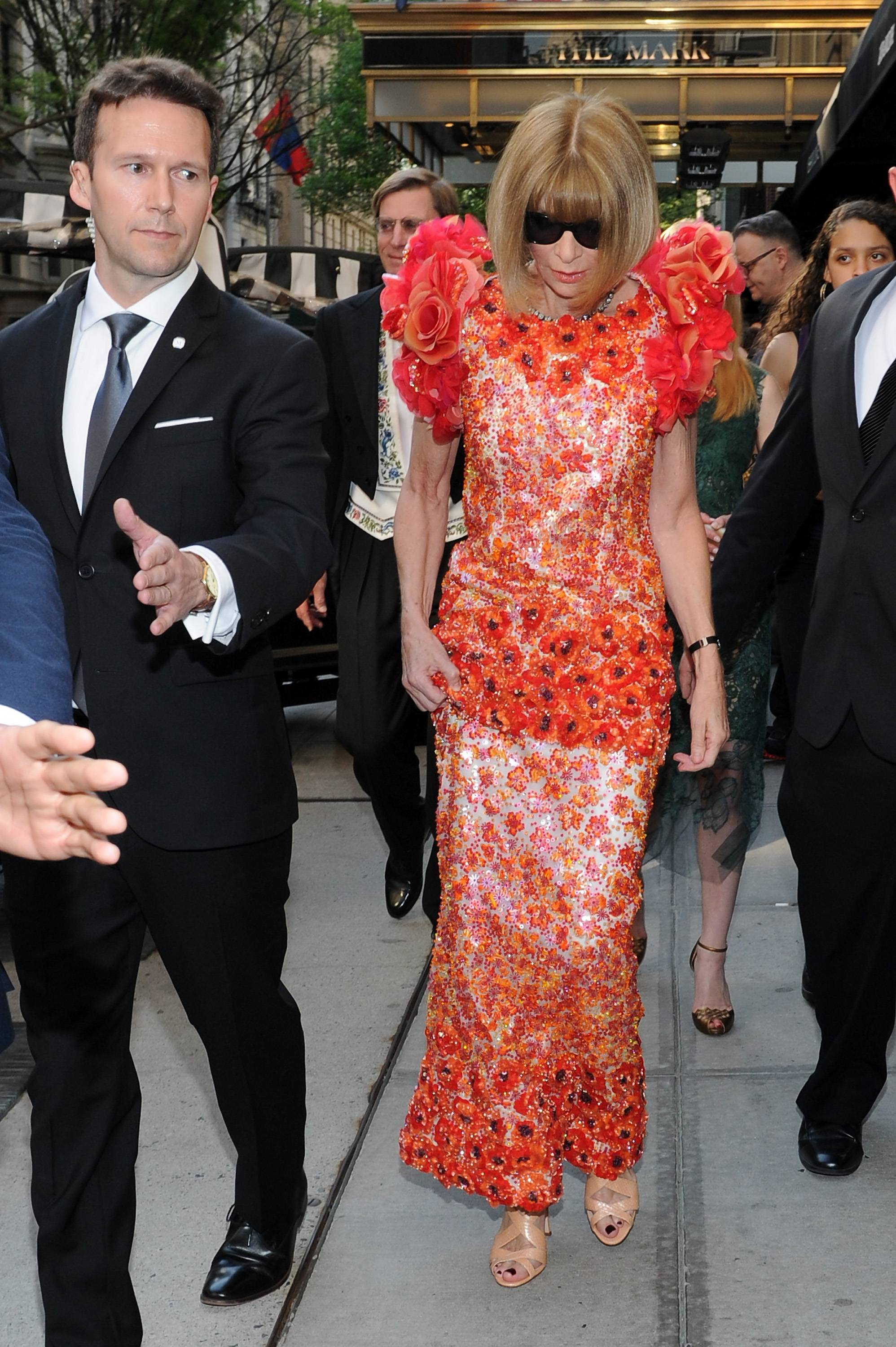 MET Ball's A-Listers Dress at New York's Mark Hotel