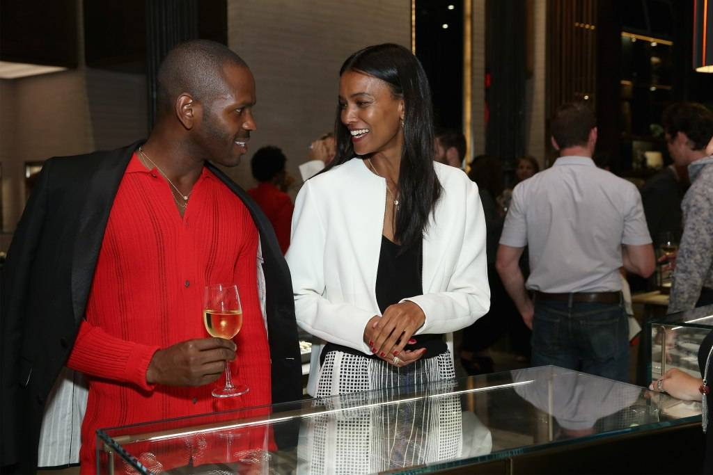 Ny May 05 Mckenzie Liautaud And Liya Kebede Attend The
