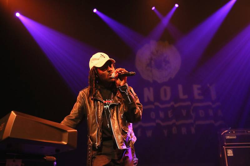 NEW YORK, NY - MAY 13:  Blood Orange performs De Nolet Presents Ketel One Vodka on May 13, 2015 in New York City.  (Photo by Jemal Countess/Getty Images for Ketel One)