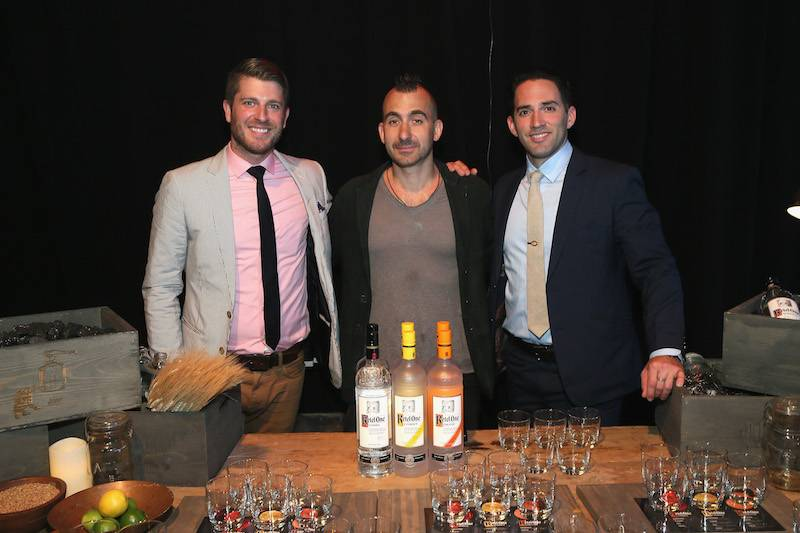 NEW YORK, NY - MAY 13:  Bartender Jeff Bell, Chef Mark Forgione and mixologist Ricky Gomez attend as De Nolet Presents Ketel One Vodka on May 13, 2015 in New York City.  (Photo by Jemal Countess/Getty Images for Ketel One)