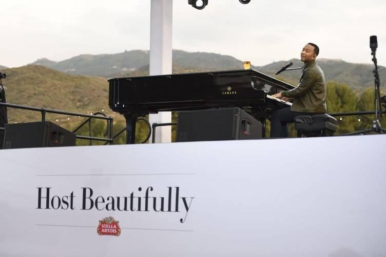John Legend hosting beautifully