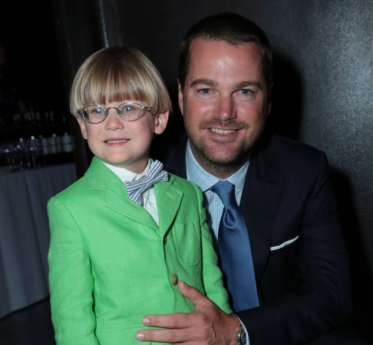 Chris O'Donnell with Charlie Croxall