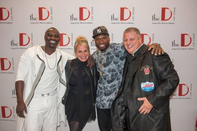 Akon, Nicole Parthum, 50 Cent, Derek Stevens, Photography by Tom Donoghue
