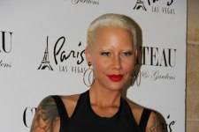 Amber Rose on the Red Carpet at Chateau Nightclub