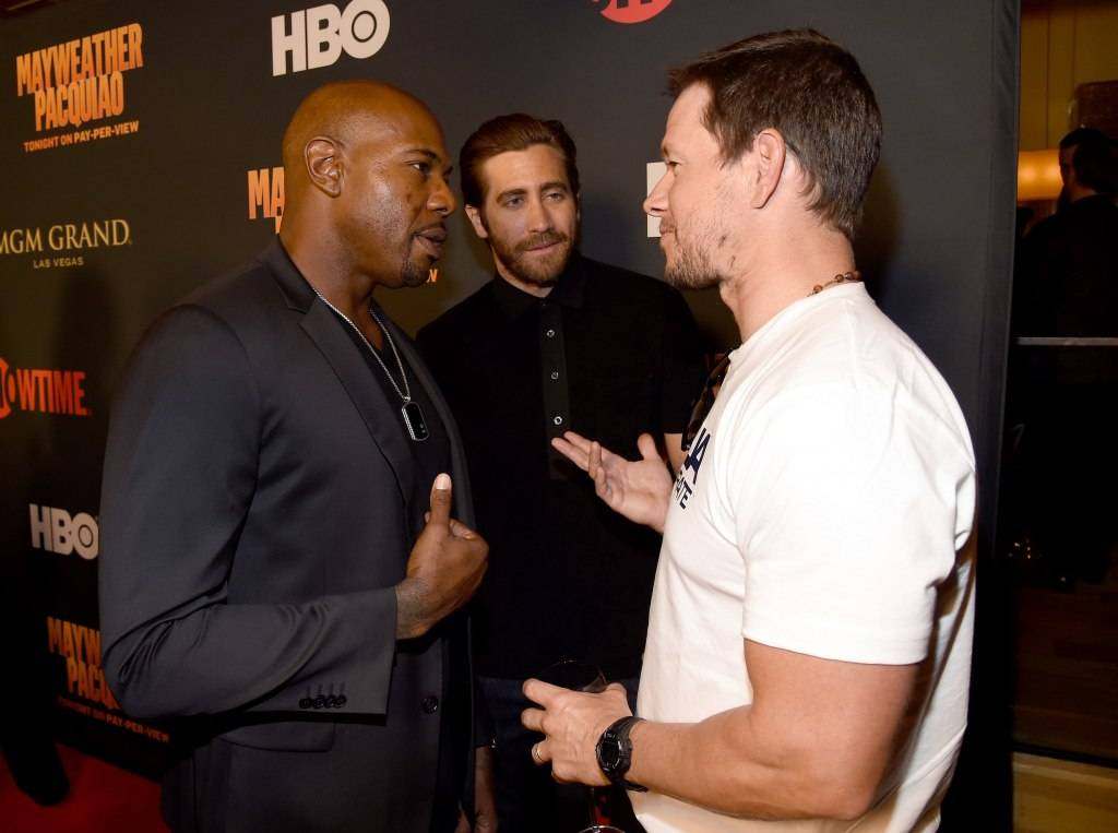 Antoine Fuqua,  Jake Gyllenhaal and Mark Wahlberg