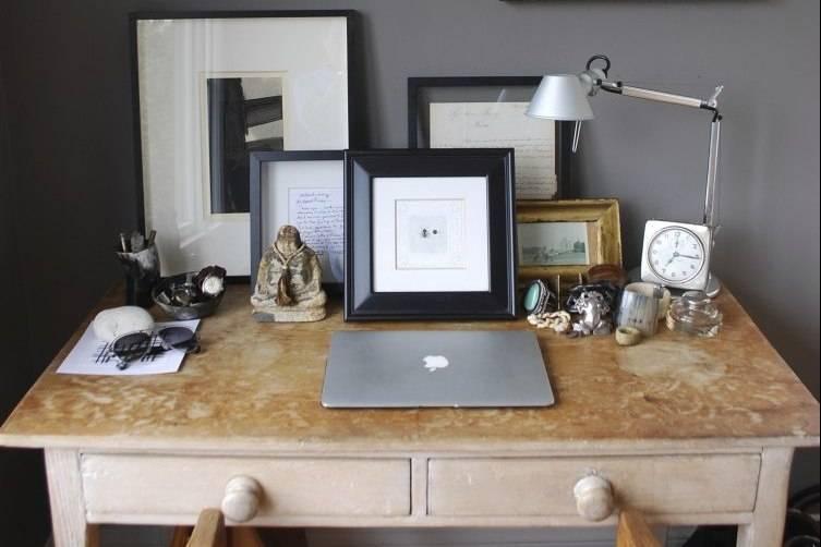Blake Kuwahara's desk