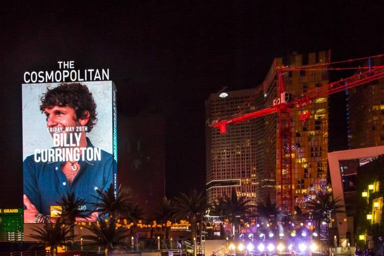 Billy Currington at The Cosmopolitan of Las Vegas in Las Vegas, NV