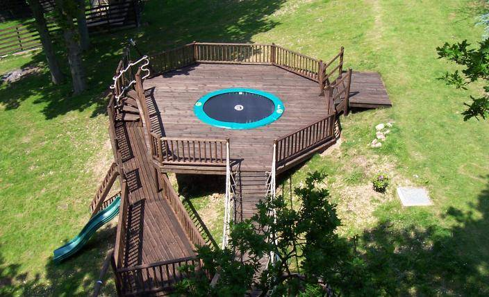 Adventure Playground for the Adventure Play Tree House