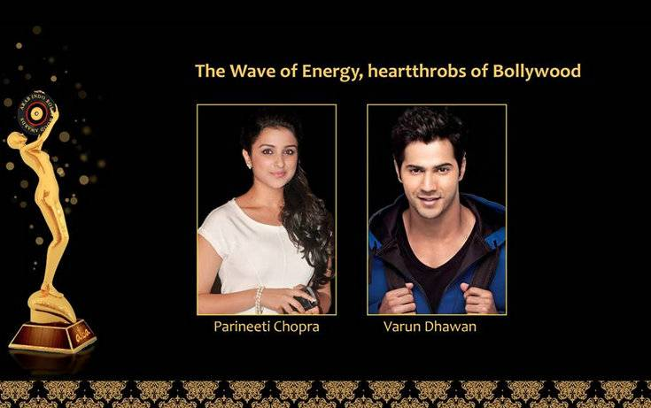 Bollywood stars Varun Dhawan and Parineeti Chopra are scheduled to make appearances during the Arab Indo Bollywood Awards in Dubai.