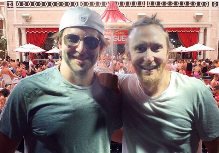 Bradley Cooper and David Guetta