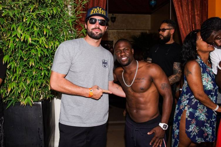 Brody Jenner_Kevin Hart_TAO Beach_MDW2015