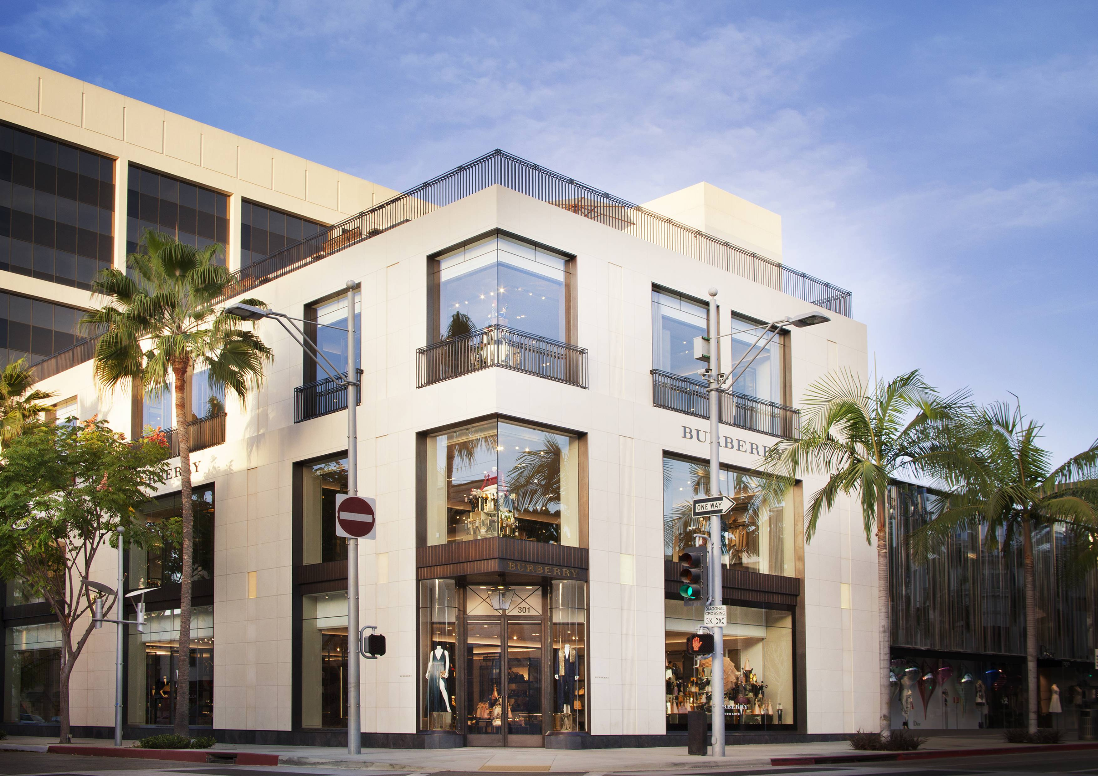 Burberry Rodeo Drive Location