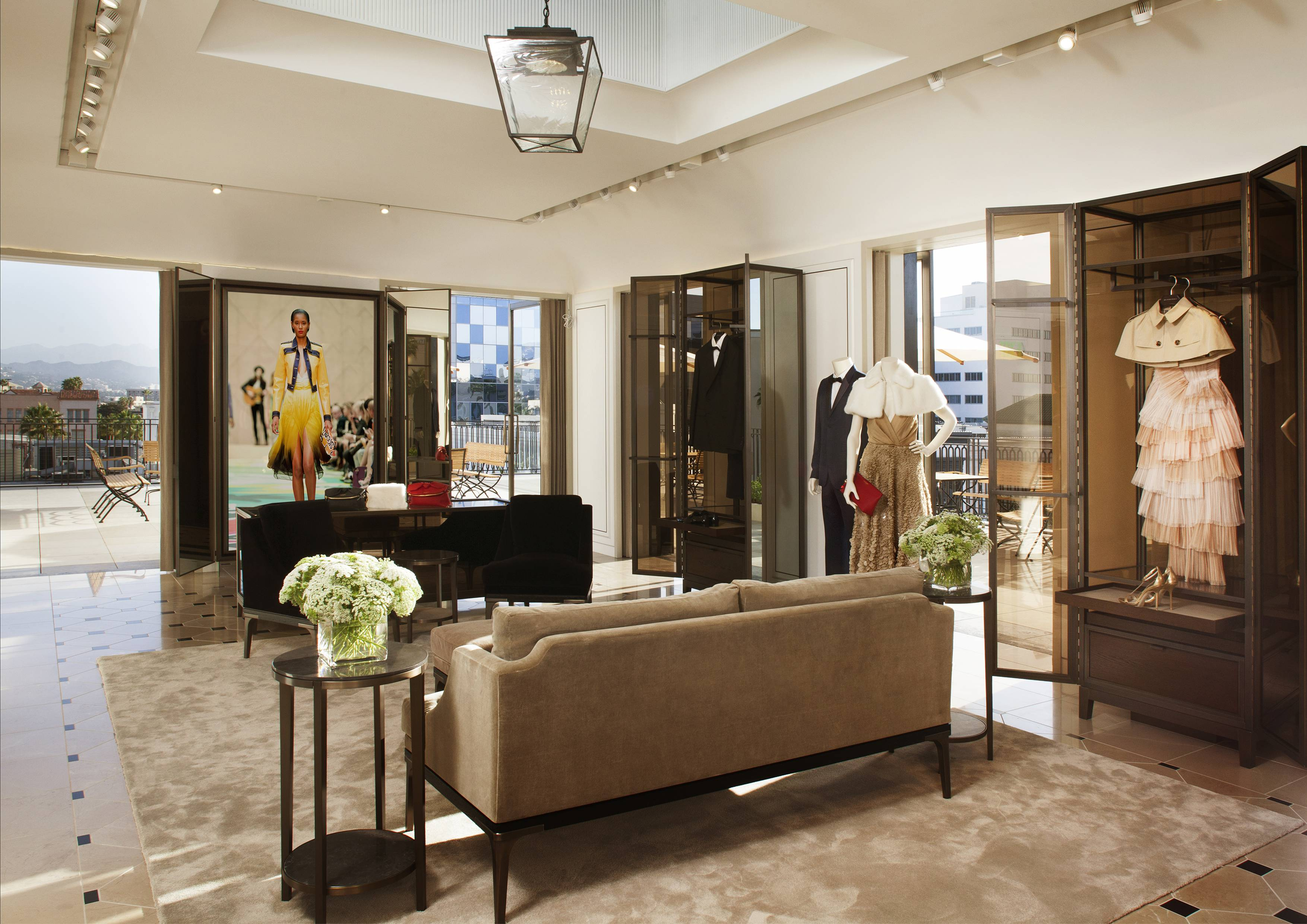 Interior of Burberry Penthouse Suit