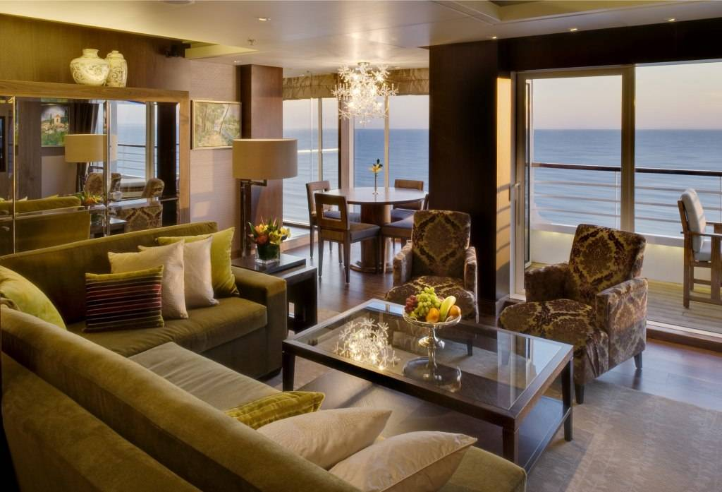 Crystal Symphony Penthouse Living Room