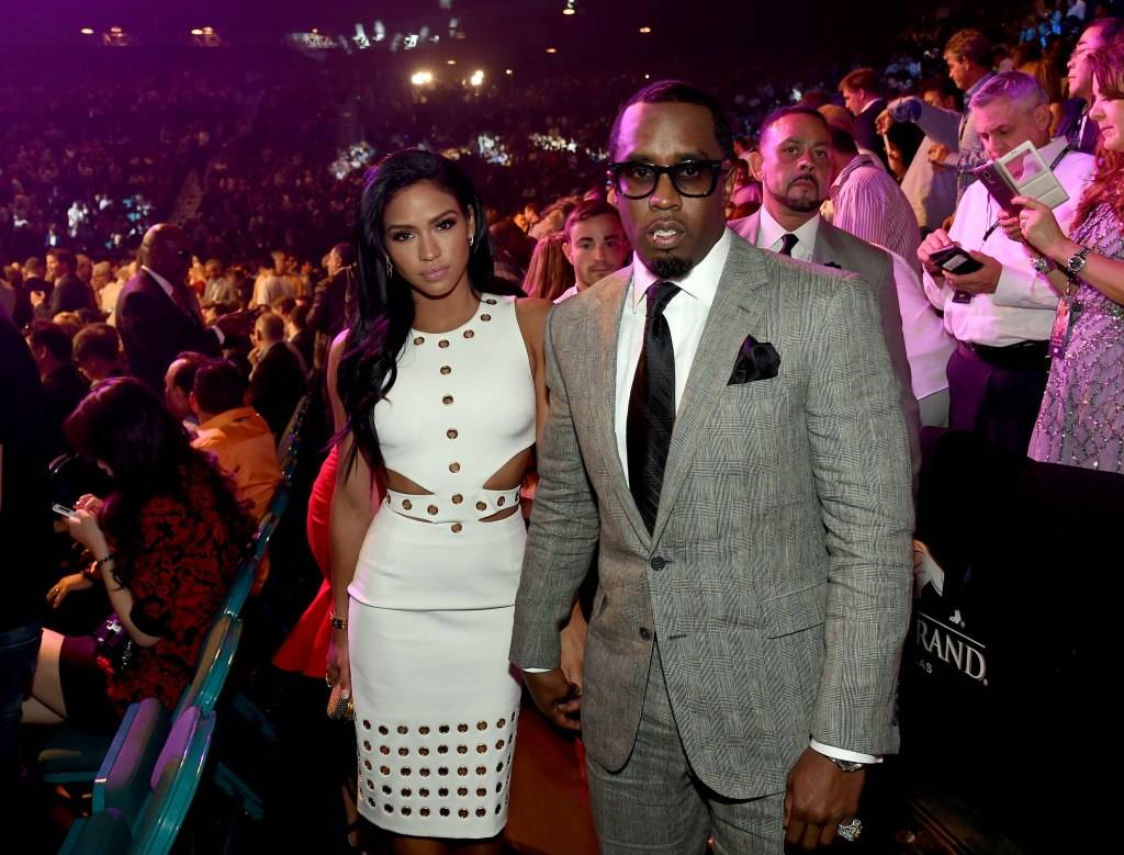 "Cassie Ventura and Sean ""Diddy"" Combs"