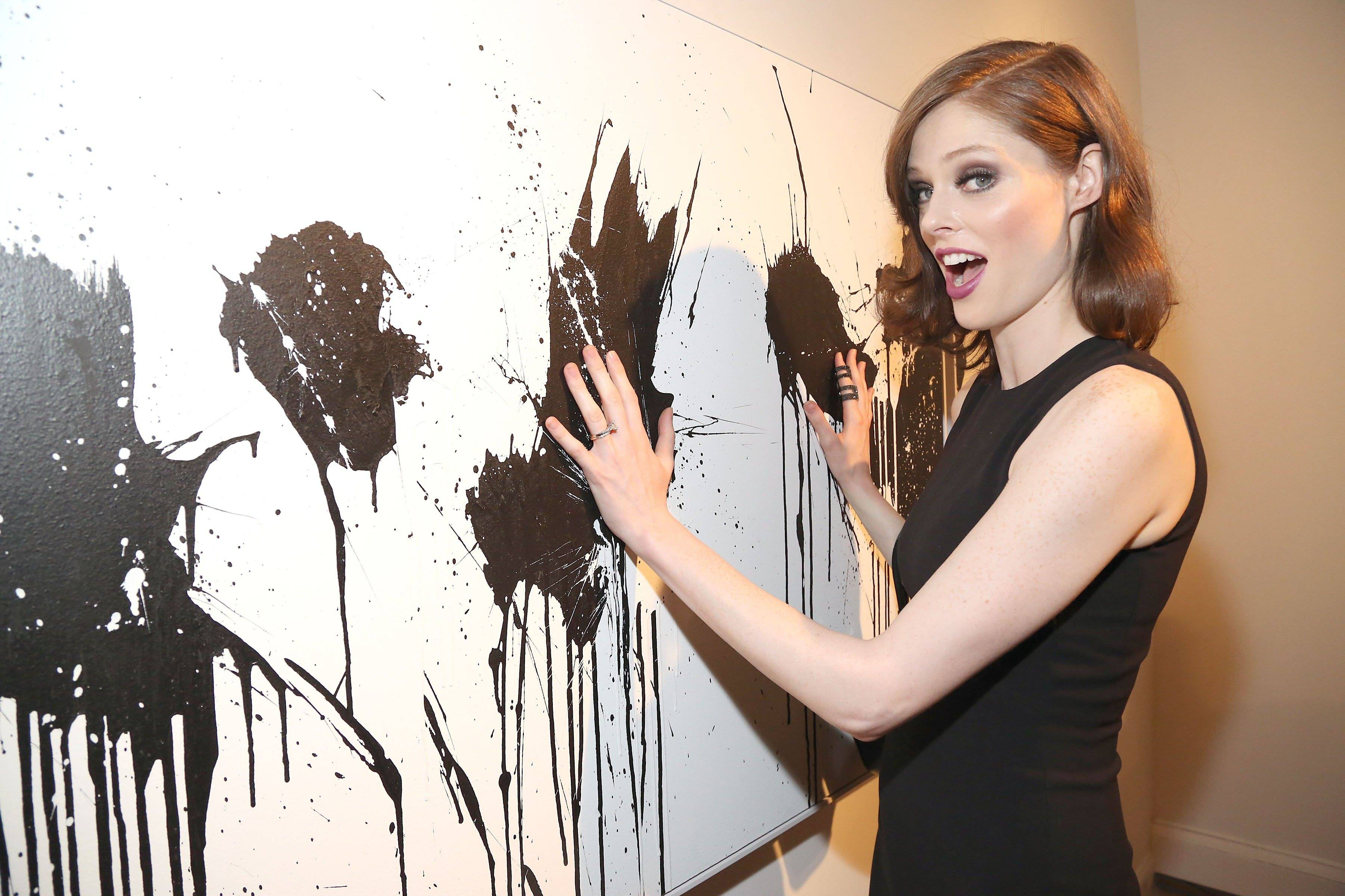 Coco Roch attends Soundwall The Connected Canvas Presents 12 by Bisco Smith