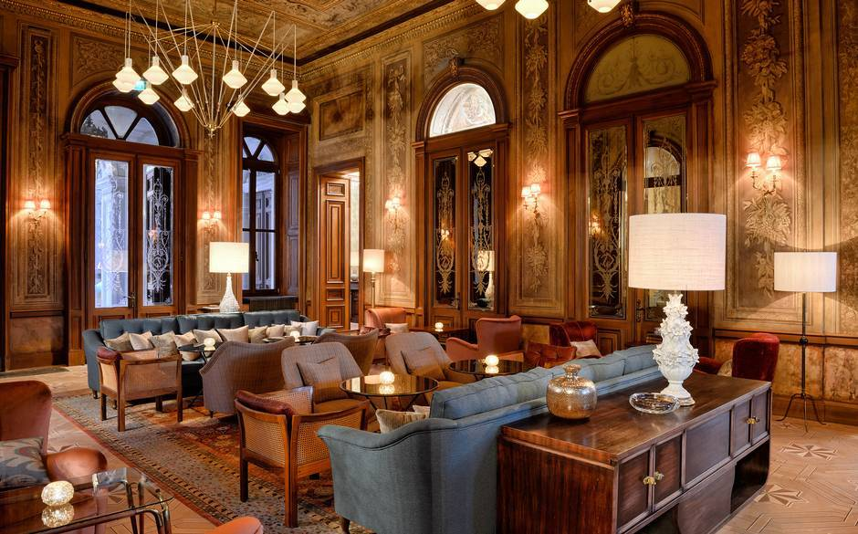 Inside the new soho house istanbul for Decor hotel istanbul