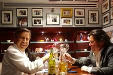Daniel Boulud and Herb Karlitz