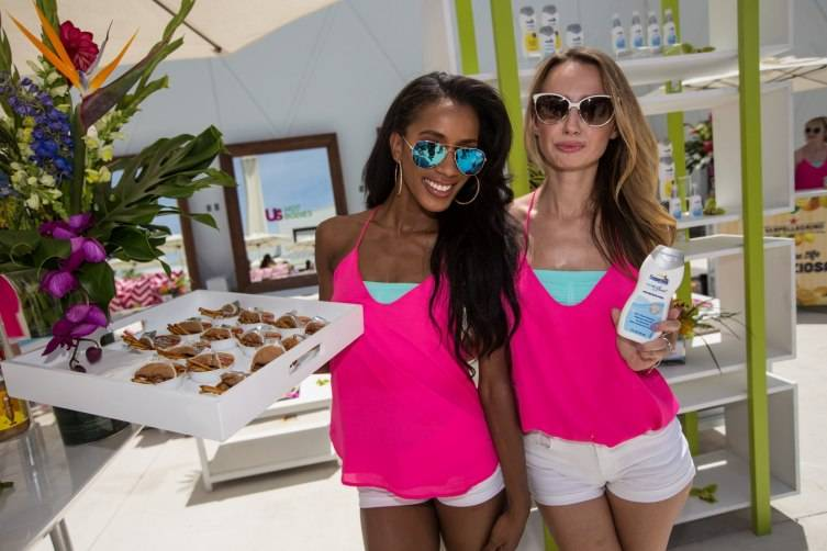 Different sponsors deliver complimentary treats to guests at Foxtail Pool Club May 30_Andrew Dang