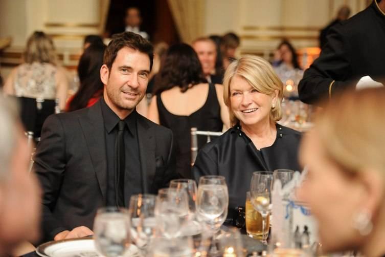 Dylan McDermott, Martha Stewart